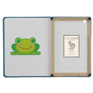 Kawaii frog iPad mini covers