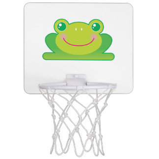 Kawaii frog mini basketball backboard