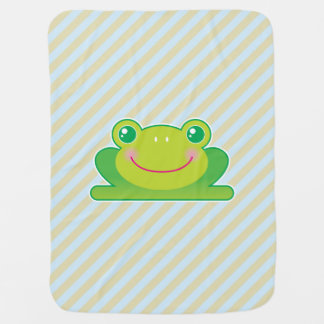Kawaii frog swaddle blankets