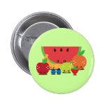 Kawaii Fruit Group Pins