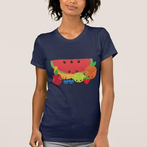 Kawaii Fruit Group T Shirt