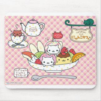 Kawaii Fruit Salad Mouse Pad