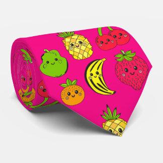 Kawaii Fruits Tie