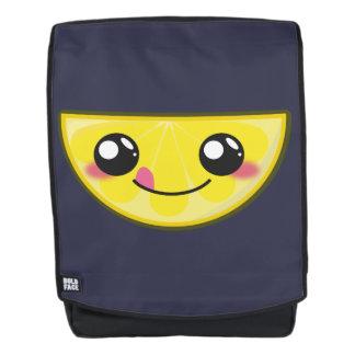 Kawaii, fun and funny lemon backpack