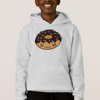 Kawaii funny and cool donut hoodie