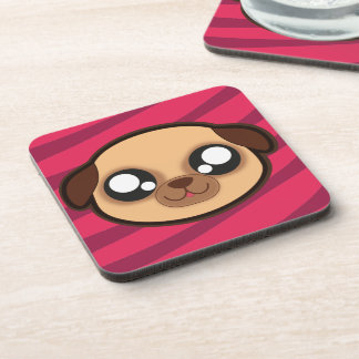 Kawaii funny dog coaster