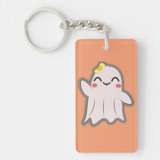 Kawaii funny ghost key chain