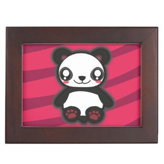 Kawaii funny panda keep sake box
