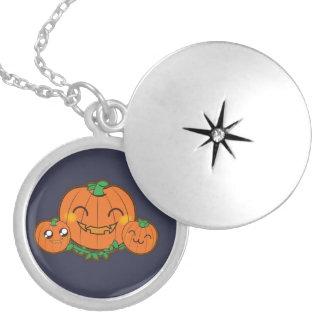 Kawaii funny pumpkin necklace