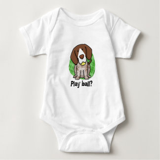 Kawaii German Shorthaired Pointer Baby Creeper