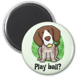 Kawaii German Shorthaired Pointer Magnet