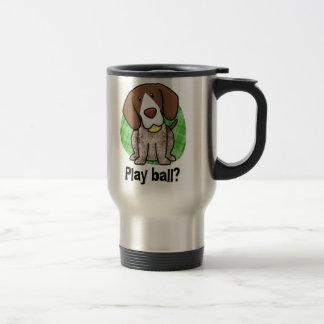 Kawaii German Shorthaired Pointer Travel Mug