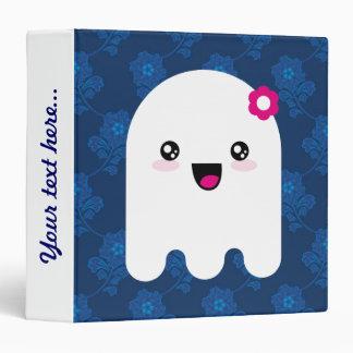 Kawaii ghost vinyl binder