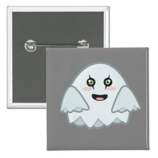 Kawaii Ghost Button