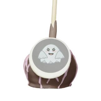 Kawaii Ghost Cake Pops