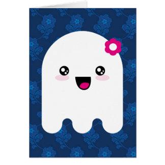 Kawaii ghost card