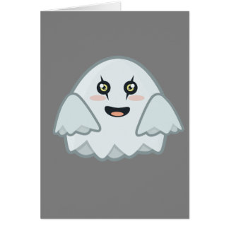 Kawaii Ghost Card