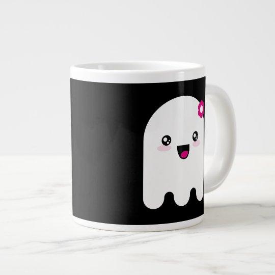 Kawaii ghost giant coffee mug