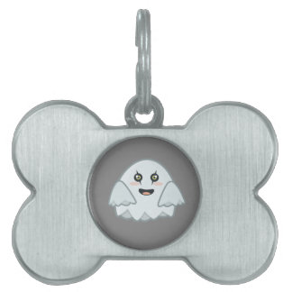 Kawaii Ghost Pet Tag