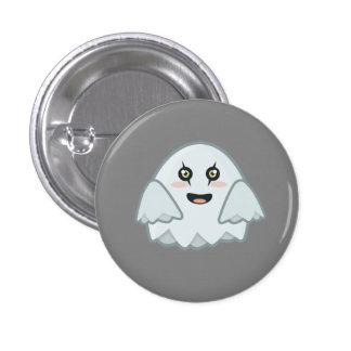 Kawaii Ghost Pinback Button