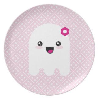 Kawaii ghost plate