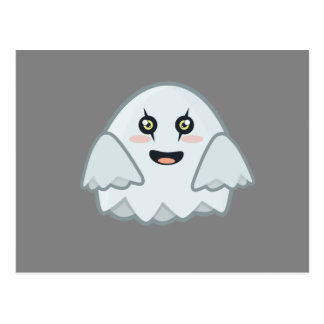 Kawaii Ghost Postcard