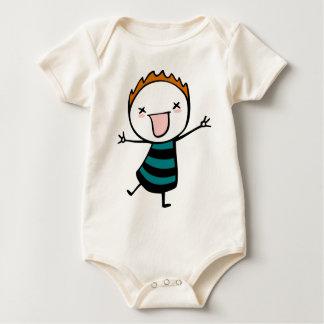Kawaii Ginger Baby Bodysuit