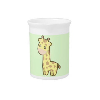 Kawaii Giraffe Drink Pitcher