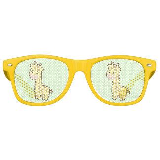 Kawaii Giraffe Retro Sunglasses