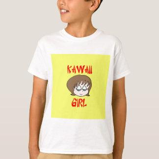 kawaii girl brown T-Shirt