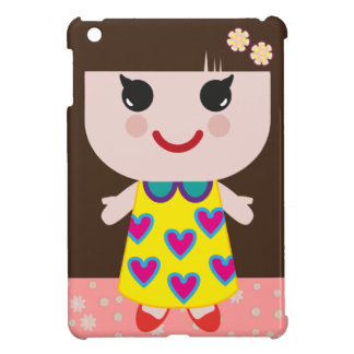 Kawaii Girl Cute Girl iPad Mini Cover