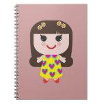 Kawaii Girl Cute Girl Notebook