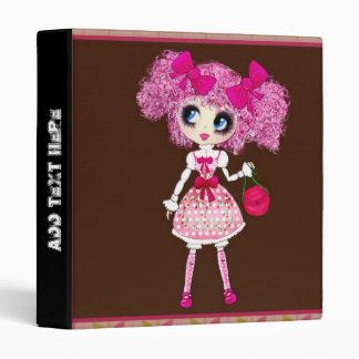Kawaii Girl PinkP sweet loli Binder