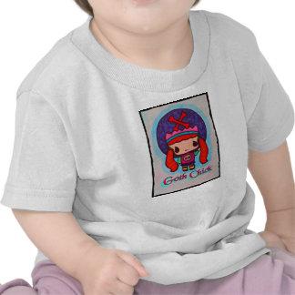 Kawaii Goth Chick Kids Shirt