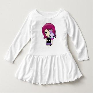 Kawaii gothic girl dress