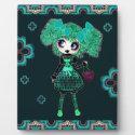Kawaii Gothic Lolita Gothloli Emerald PinkyP Display Plaques