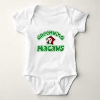 Kawaii Greenwing Macaw Baby Creeper