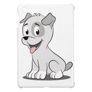 Kawaii grey puppy iPad mini cases