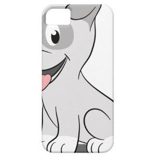 Kawaii grey puppy iPhone SE/5/5s case