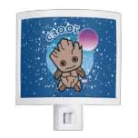 Kawaii Groot In Space Night Light