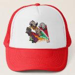 Kawaii Guardians of the Galaxy Group Jump Trucker Hat