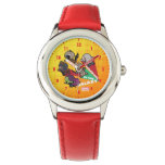 Kawaii Guardians of the Galaxy Group Jump Wrist Watch
