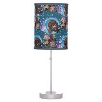 Kawaii Guardians of the Galaxy Pattern Desk Lamp