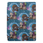 Kawaii Guardians of the Galaxy Pattern iPad Pro Cover