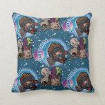 Kawaii Guardians of the Galaxy Pattern Throw Pillow