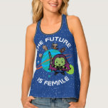 Kawaii Guardians of the Galaxy Planet Graphic Tank Top