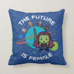 Kawaii Guardians of the Galaxy Planet Graphic Throw Pillow