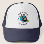 Kawaii Guardians of the Galaxy Planet Graphic Trucker Hat