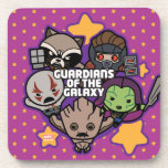 Kawaii Guardians of the Galaxy Star Graphic Drink Coaster