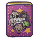 Kawaii Guardians of the Galaxy Star Graphic iPad Sleeve